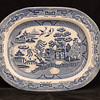 Blue Willow Platter 14.5 x 11.5 inch