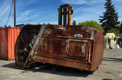 1953 Heil Collectomatic Rear Loader
