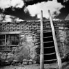 Acoma Ladder B&W