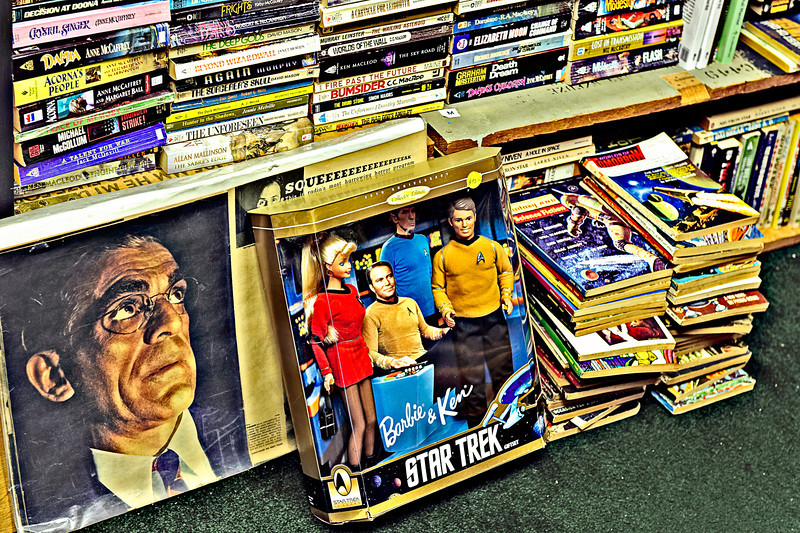 Star Trek Barbie and Ken. The visual feast continues.