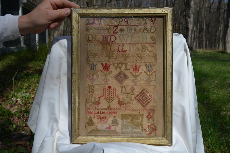 Sampler dated 1797