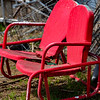 Red Chairs Swing