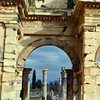 arch leading to agora