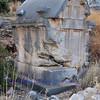 pillar tomb on low pillar