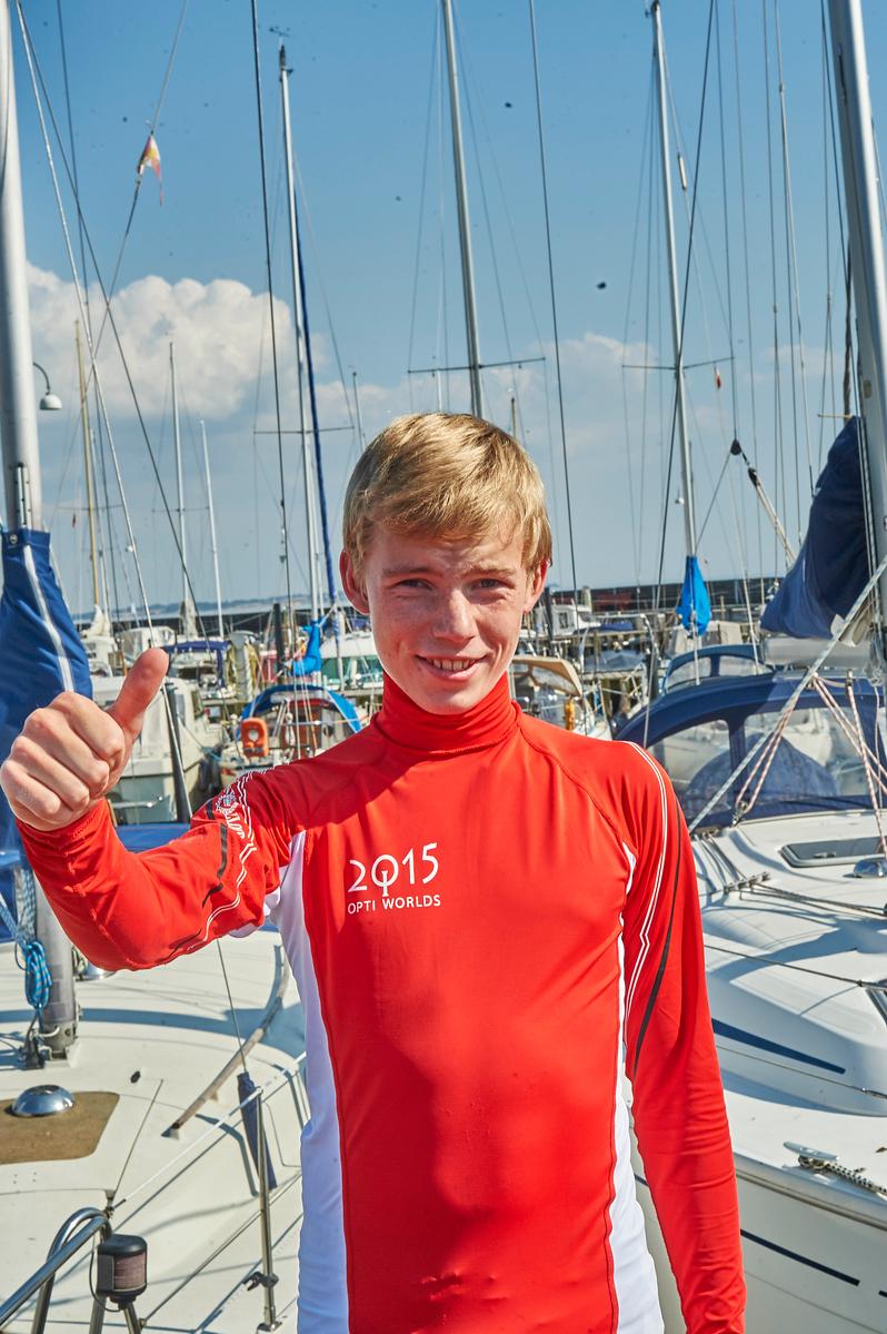 Anton vil være verdensmester i optimisme