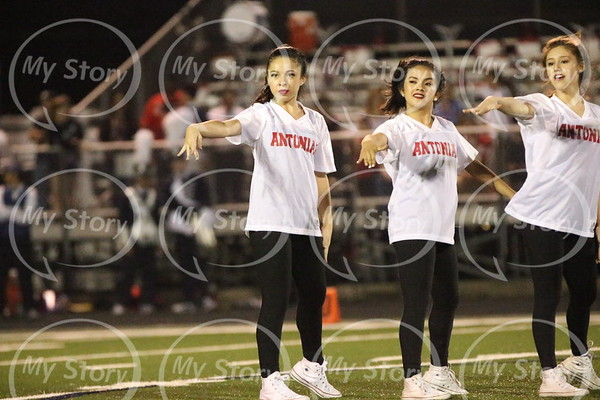 Antonian Dance Team at Central Game 2017-18