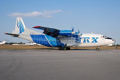 SRX Transcontinental (SRX Group) (operated by Avialeasing) Antonov An-12BP UK11418 (msn 402504) OPF (Bruce Drum). Image: 100332.