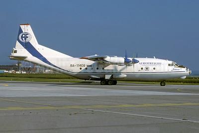 Aerofreight Airlines-AF Antonov An-12B RA-11408 (msn 3341209) ZRH (Rolf Wallner). Image: 954164.