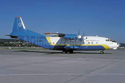 Bright Aviation Services Antonov An-12BK LZ-BRC (msn 8345510) ZRH (Rolf Wallner). Image: 951013.