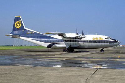 Sigi Air Cargo Antonov An-12BP LZ-SGA (msn 1348007) OST (Jacques Guillem). Image: 952399.