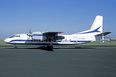Aviostart Antonov An-24RV LZ-ASZ (msn 7903) PRG (Christian Volpati Collection). Image: 951012.