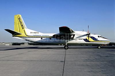Sudanair Express (Sudan Airways) Antonov An-24T EK-49273 (msn 7910405) (Sudan Airways colors) (Jacques Guillem Collection). Image: 954216.