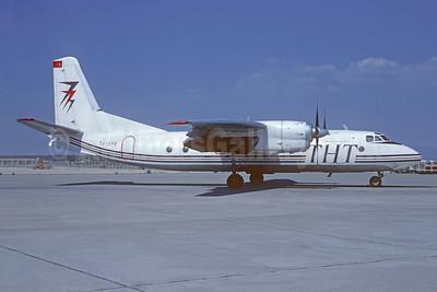 THT Hava Yollari Antonov An-24RV TC-FPB (msn 77310710) MUC (Christian Volpati Collection). Image: 951005.