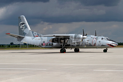 Rose Air (Bulgaria) Antonov An-26B LZ-ABR (msn 13905) (Air Bright colors) LEJ (Rainer Bexten). Image: 951426.