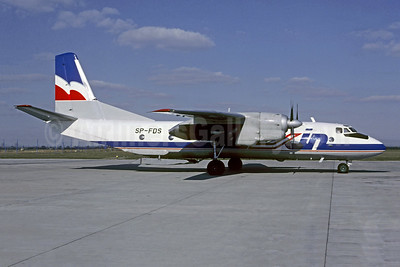 Exin AIr Antonov An-26B SP-FDS (msn 12205) BOD (Christian Volpati Collection). Image: 950831.