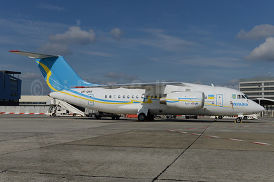 Ukraine (Antonov Airlines) Antonov An-148-100B UR-UKR (msn 01-10) BRU (Ton Jochems). Image: 924763.