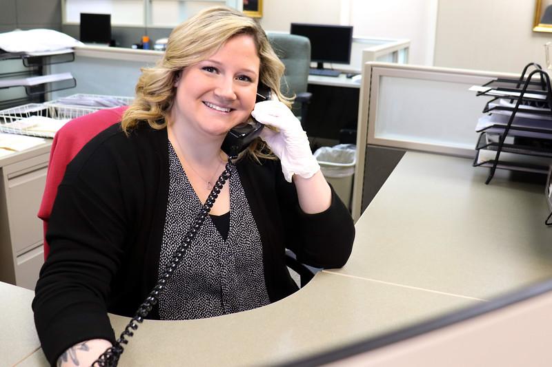 Chantal Rousseau of Tyngsboro is the VIP specialist at Anton's corporate headquarters in Tewksbury.