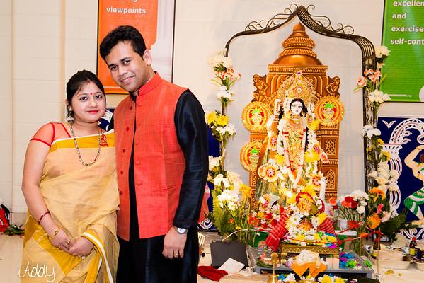 Antorik Saraswati Puja 2015