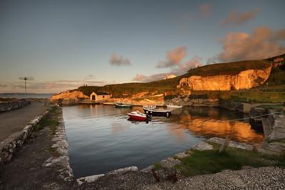 Evening Light at Ballintoy Harbour-1L8A8441