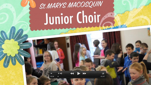 Junior Choir Tidy up Song 1