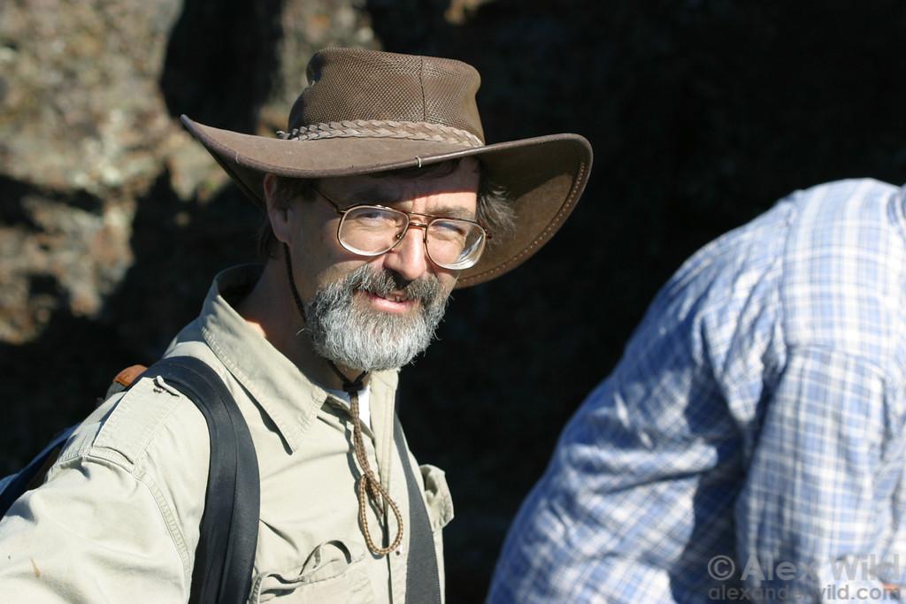 Phil Ward, ant taxonomist.