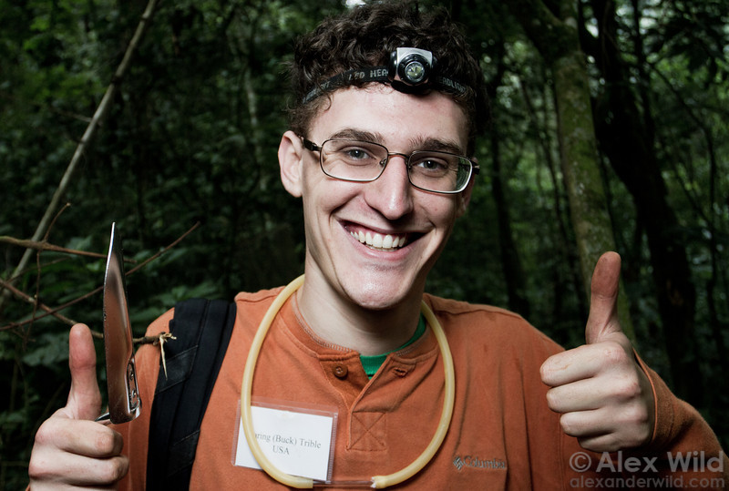 Buck Trible at Ant Course 2012 in Uganda.