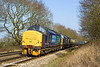 8th Mar 11:  Growling over Great Park Crossing are 37682 & 37409.  The pair are working 5Z47  ECS move from Crewe to Eastleigh