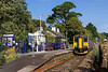 10th Sep 2015:  Running through the original  Lelant Halt is 150248 forming 2A16 the11.33 fron St Ives to St Erth.  The station is a private dwelling though some morning and evening trains stop stop here