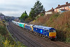 4th Dec 2018: 47815 'Lost Boys 1966-1988' & 47812 are leaving Parson Street with 5Q32 which is moving a new CAV built EMU for TransPenine Express 397003.  It came from Spain by ship to Bristol's Portbury Dock and is being taken to Crewe