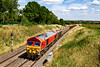 22nd Jul 2020:  59205 is is working 7C77 from Acton to Merehead through Great Cheverell