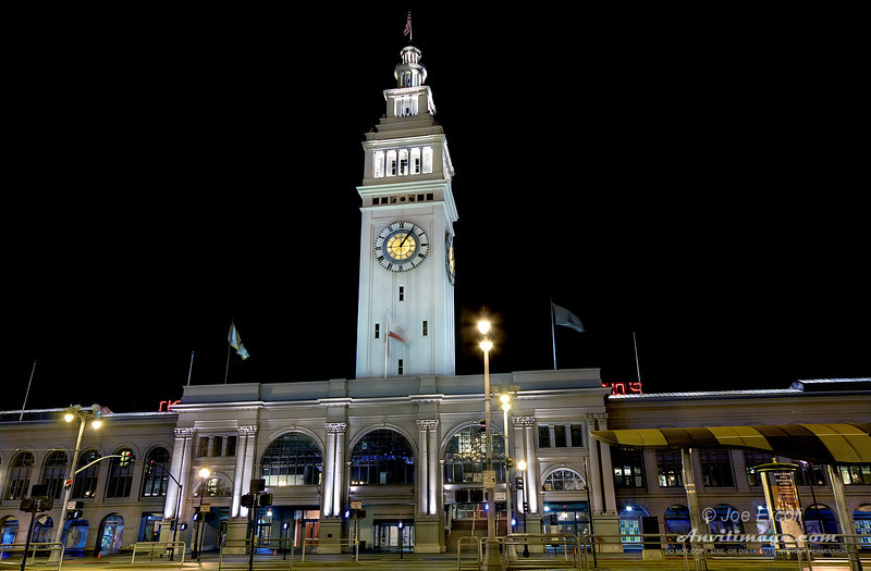 """<strong>SF Ferry Building</strong><br /> Read the <a href=""""http://www.anvilimage.com/2009/05/san-francisco-night-shots.html"""" target=""""_blank"""">Anvil Image Blog entry</a> for this image."""