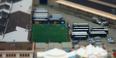 Soccer Field on the Pier