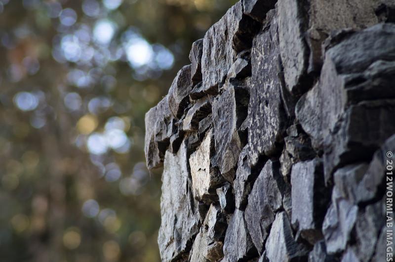 21Jan11 - Stone wall.