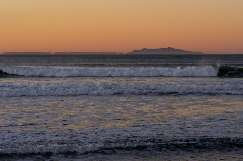 24Jan11 - Channel islands sunrise view from Ventura pier.<br /> SMC-FA 77mm f/1.8