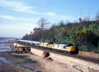 940210  37668 37521  Burngullow-Irvine Teignmouth