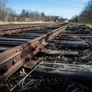 rail adjacent to ontario trail