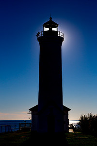 in the shadow of Tibbetts Point Lighthouse