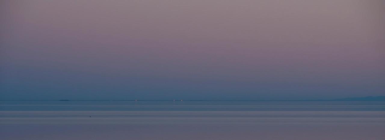 Salton Sea sunset colors.