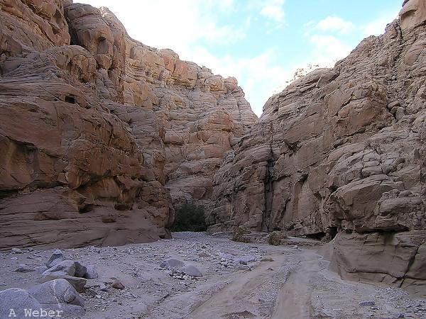 Anza-Borrego Desert State Park, Sandstone Canyon