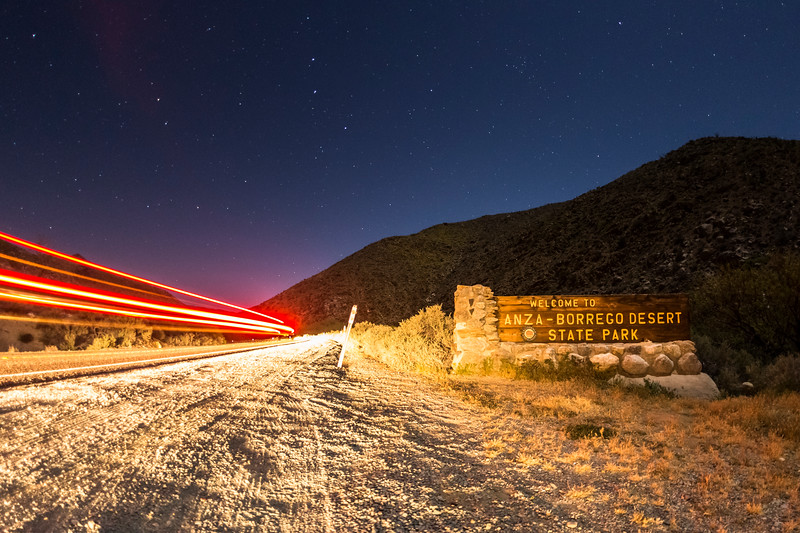 Welcome to Anza-Borrego Desert State Park
