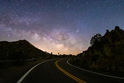 Dark Desert Highway To Heaven.