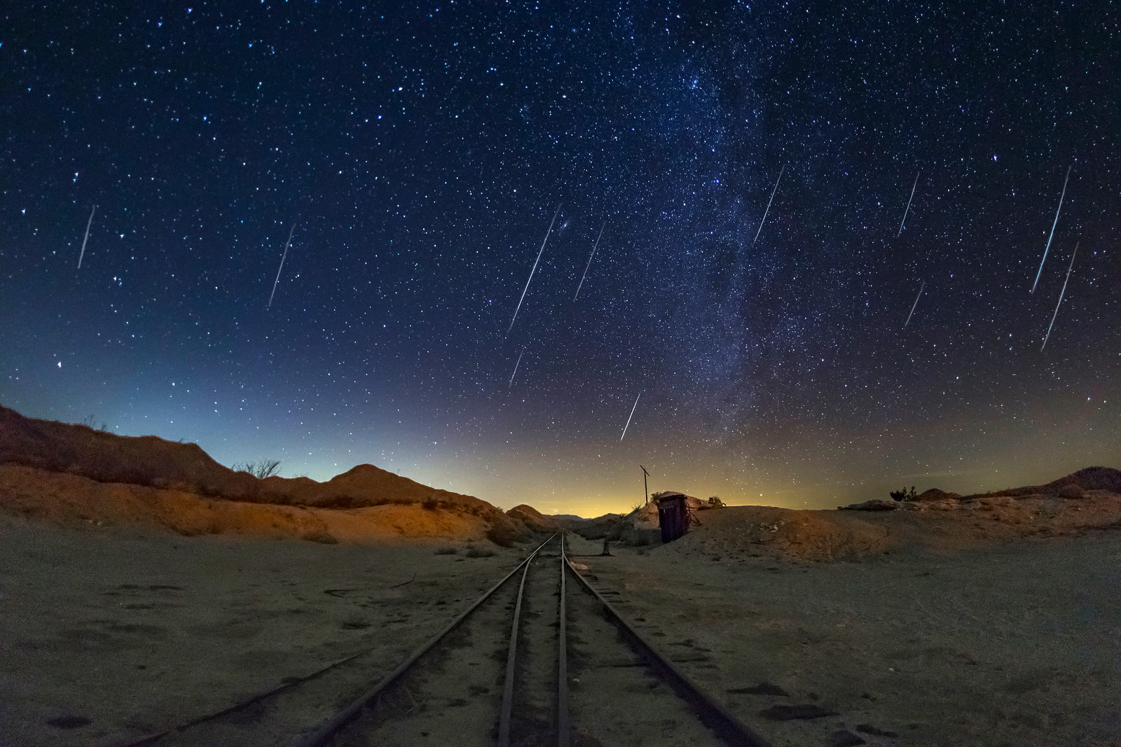 All Aboard the Geminids Express!