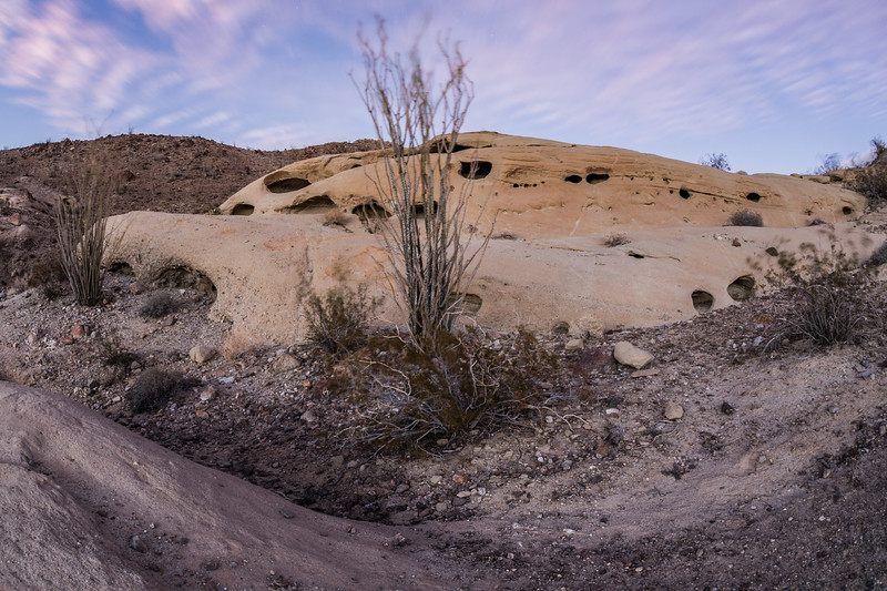 Spaceship: Anza-Borrego Desert Wind Caves. Take 3.