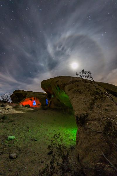Alien Orb Invades the Desert