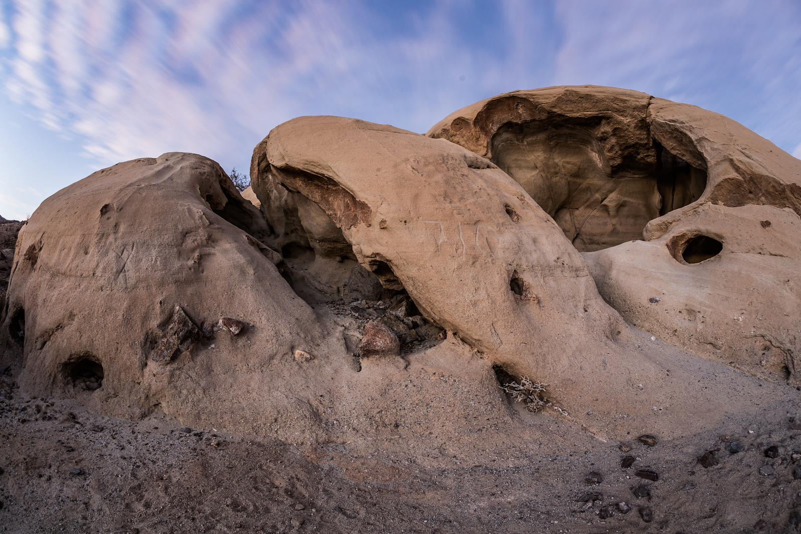 Spaceship: Anza-Borrego Desert Wind Caves.