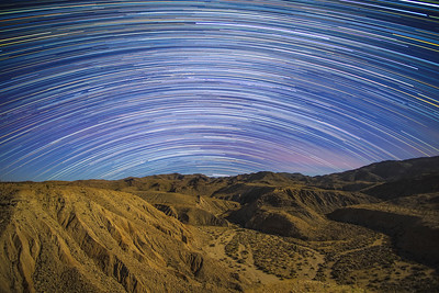 The Stars At Night Are Big And Bright, Deep In The Heart Of The Anza-Borrego Desert.