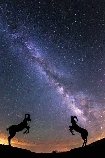 Rams and the Milky Way