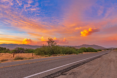 On A Colorful Desert Highway...