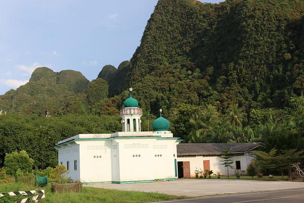 Mosque Thalane Bay Krabi Thailand