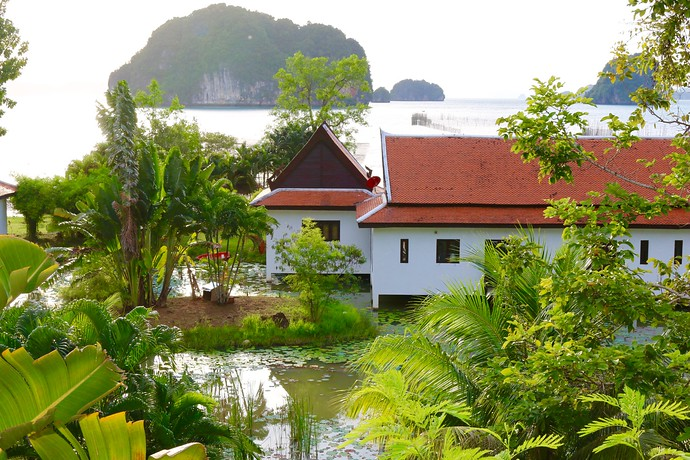 Kaleane villa offering beachfront living Thalane Bay Krabi Thailand